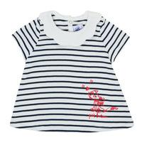 Vêtements Fille T-shirts manches courtes Petit Bateau MELIANE Multicolore