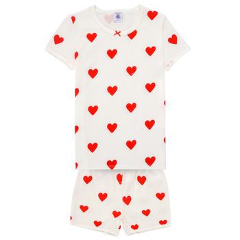 Vêtements Fille Pyjamas / Chemises de nuit Petit Bateau MICOURT Multicolore