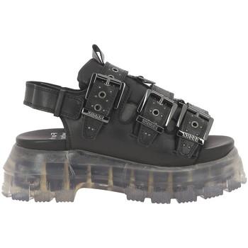 Chaussures Femme Sandales et Nu-pieds Bronx 84831 noir