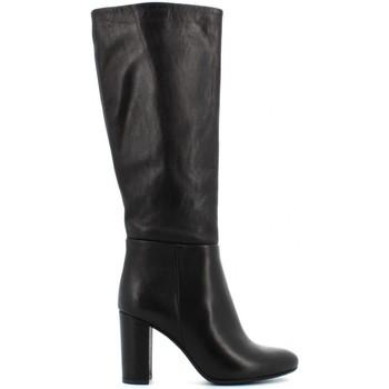 Chaussures Femme Bottes ville Elisa Lanci LZ-B9159 Nero
