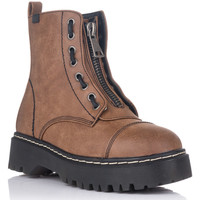 Chaussures Femme Boots Emmshu CAMIL Marron