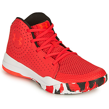 Chaussures Enfant Basketball Under Armour GS JET 2019 Rouge