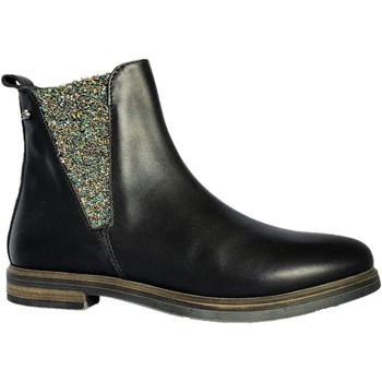 Chaussures Fille Boots Stones and Bones Genna noir