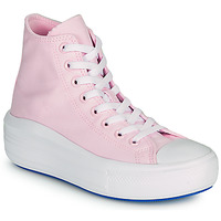 Chaussures Femme Baskets montantes Converse CHUCK TAYLOR ALL STAR MOVE ANODIZED METALS HI Rose