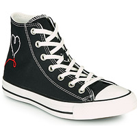 Chaussures Femme Baskets montantes Converse CHUCK TAYLOR ALL STAR VALENTINE'S DAY HI Noir
