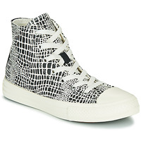 Chaussures Fille Baskets montantes Converse CHUCK TAYLOR ALL STAR DIGITAL DAZE HI Noir / Blanc
