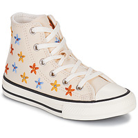 Chaussures Fille Baskets montantes Converse CHUCK TAYLOR ALL STAR SPRING FLOWERS HI Blanc