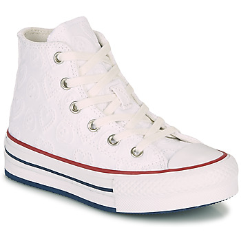 Chaussures Fille Baskets montantes Converse CHUCK TAYLOR ALL STAR LIFT LOVE CEREMONY HI Blanc