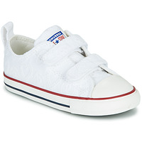 Chaussures Fille Baskets basses Converse CHUCK TAYLOR ALL STAR 2V LOVE CEREMONY OX Blanc