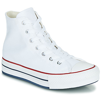 Chaussures Fille Baskets montantes Converse CHUCK TAYLOR ALL STAR EVA LIFT CANVAS COLOR HI Blanc