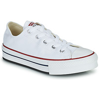 Chaussures Fille Baskets basses Converse CHUCK TAYLOR ALL STAR EVA LIFT FOUNDATION OX Blanc