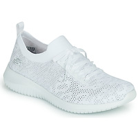 Chaussures Femme Baskets basses Skechers ULTRA FLEX WINDY SKY Blanc