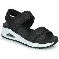 Chaussures Femme Sandales et Nu-pieds Skechers UNO Noir