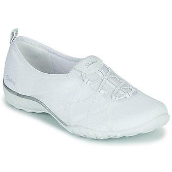 Chaussures Femme Baskets basses Skechers BREATHE-EASY A-LOOK Blanc