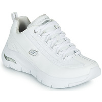 Chaussures Femme Baskets basses Skechers ARCH FIT Blanc