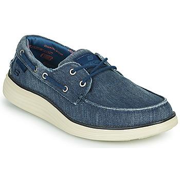 Chaussures Homme Chaussures bateau Skechers STATUS 2.0 LORANO Marine