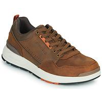 Chaussures Homme Baskets basses Skechers FAIRLINE Marron
