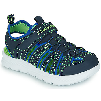 Chaussures Garçon Sandales sport Skechers C-FLEX SANDAL 2.0 Marine / Vert