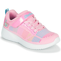 Chaussures Fille Baskets basses Skechers BOBS SQUAD Rose