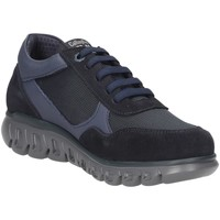 Chaussures Homme Randonnée CallagHan IGI&CO 1106311 polacchini scarpe uomo pelle scamosciata beige Blue