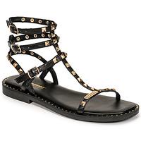 Chaussures Femme Sandales et Nu-pieds Les Tropéziennes par M Belarbi CORALIE Noir