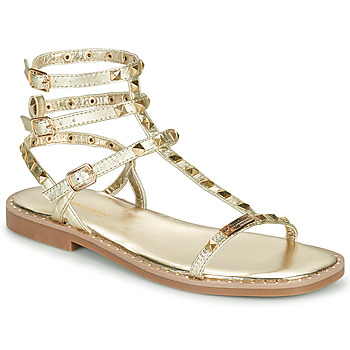 Chaussures Femme Sandales et Nu-pieds Les Tropéziennes par M Belarbi CORALIE Doré