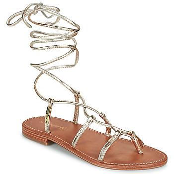 Chaussures Femme Sandales et Nu-pieds Les Tropéziennes par M Belarbi HELLEN Doré