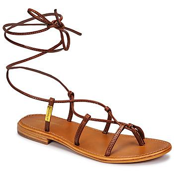 Chaussures Femme Sandales et Nu-pieds Les Tropéziennes par M Belarbi HELLEN Marron