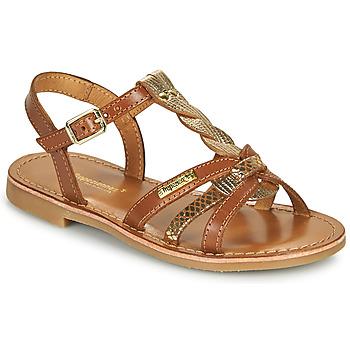 Chaussures Fille Sandales et Nu-pieds Les Tropéziennes par M Belarbi BADAMI Camel / Or