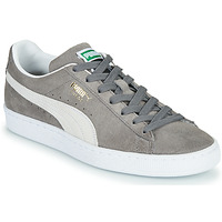 Chaussures Baskets basses Puma SUEDE Gris