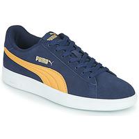 Chaussures Homme Baskets basses Puma SMASH Bleu / Beige