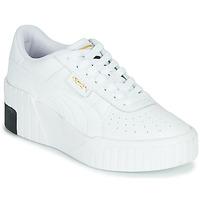 Chaussures Femme Baskets basses Puma CALI WEDGE Blanc / Noir