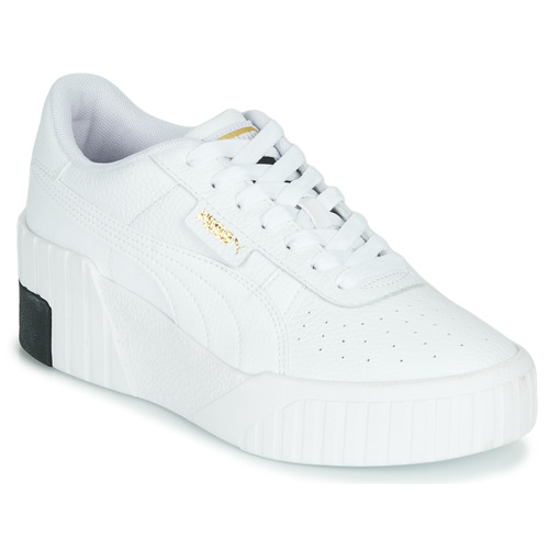 Puma CALI WEDGE Blanc / Noir - Chaussures Baskets basses Femme 79,99 €