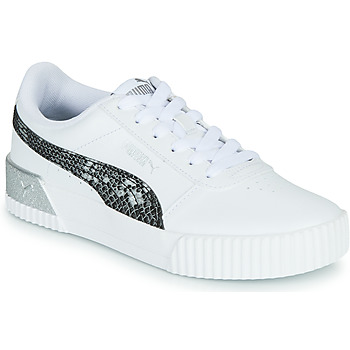 Chaussures Femme Baskets basses Puma CARINA Blanc / Reptile