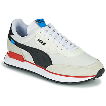 Chaussures Homme Baskets basses Puma FUTURE RIDER PLAY ON Blanc / Noir / Rouge