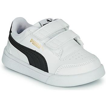 Chaussures Enfant Baskets basses Puma SHUFFLE INF Blanc / Noir