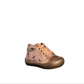 Chaussures Fille Bottines Stones and Bones Wand metal nude
