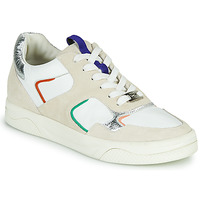 Chaussures Femme Baskets basses Mam'Zelle ARTIX Blanc / Multicolore
