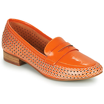 Chaussures Femme Mocassins Mam'Zelle ZIP Orange