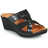 Chaussures Femme Mules Mam'Zelle DINAMO Noir