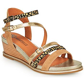 Chaussures Femme Sandales et Nu-pieds Mam'Zelle NAGA Beige / Orange