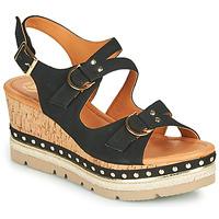 Chaussures Femme Sandales et Nu-pieds Mam'Zelle PAPOTE Noir