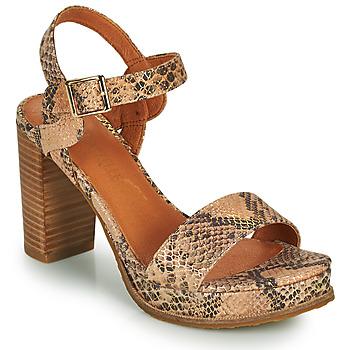Chaussures Femme Sandales et Nu-pieds Mam'Zelle JAIN Beige