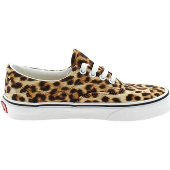 Chaussures Fille Baskets basses Vans ERA LEOPARDATE Beige