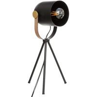 Maison & Déco Lampes à poser Atmosphera Lampe trépied Bil noir H45 Noir
