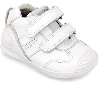 Chaussures Enfant Baskets mode Biomecanics 151157 blanc