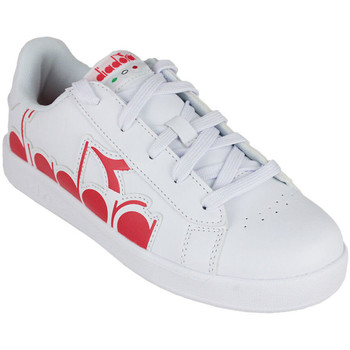 Chaussures Enfant Baskets basses Diadora game p bolder gs Rouge