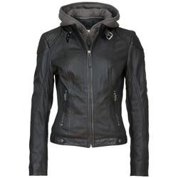 Vêtements Femme Vestes en cuir / synthétiques Gipsy CACEY LEGV BLACK Noir