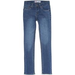 Vêtements Garçon Jeans slim Levi's Jeans garçon délavé Bleu