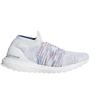Chaussures Femme Running / trail adidas Originals Ultraboost Laceless W Blanc